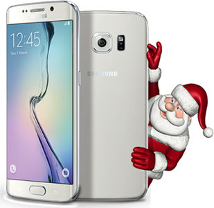 Galaxy S6 Edge, promotion speciale Noel 2017